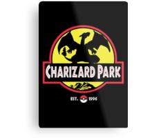 Charizard Park Metal Print