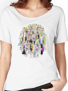 Marilyn Audrey Punks in Tokyo Women's Relaxed Fit T-Shirt