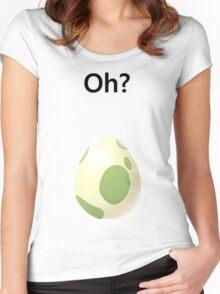 Pokemon Go Egg Women's Fitted Scoop T-Shirt