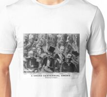 Grand centennial smoke - history in vapor - 1876 Unisex T-Shirt