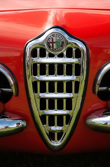 Alfa Romeo Giulia Grille 1 by Flo Smith