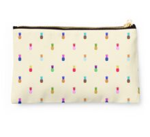 Pineapple Colourful Pattern Studio Pouch