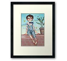 summer harry Framed Print