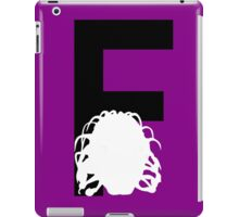 F is for the Face of Boe iPad Case/Skin