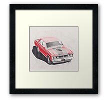 XY GT Phase 3 Falcon by Glens Graphix Framed Print