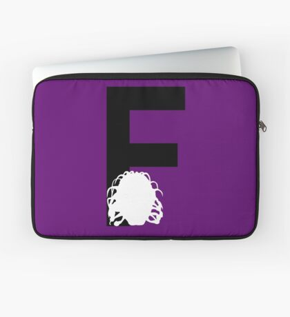 F is for the Face of Boe #2 Laptop Sleeve