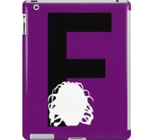 F is for the Face of Boe #2 iPad Case/Skin