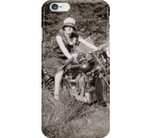 Brough Superior motorcycle - 1930s iPhone Case/Skin