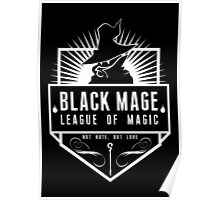 League of Magic: Black Poster