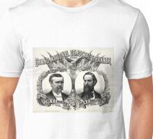 Grand national Democratic banner 1880 - 1880 Unisex T-Shirt