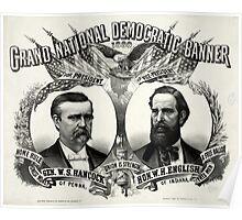 Grand national Democratic banner 1880 - 1880 Poster
