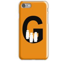 G is for Gallifreyans iPhone Case/Skin
