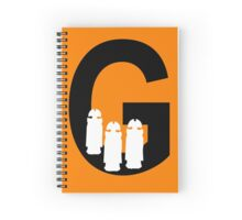 G is for Gallifreyans Spiral Notebook