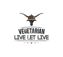 Vegan Vegetarian Photographic Print