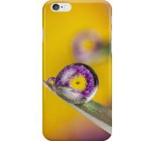 Purple Flower Dew Refraction iPhone Case/Skin