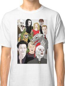 Buffy Big Bad Poster Classic T-Shirt