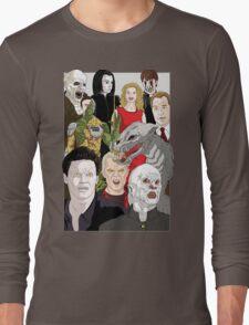 Buffy Big Bad Poster Long Sleeve T-Shirt