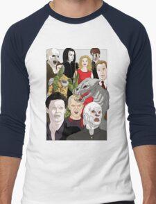 Buffy Big Bad Poster Men's Baseball ¾ T-Shirt