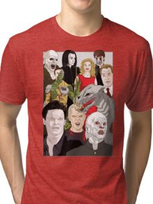 Buffy Big Bad Poster Tri-blend T-Shirt