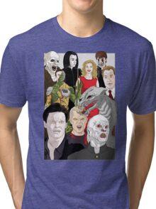 Buffy Big Bad Poster Tri-blend T-Shirt