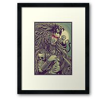 Vulture Queen Framed Print