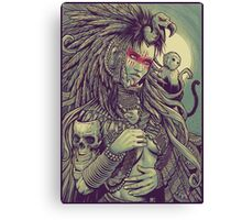 Vulture Queen Canvas Print