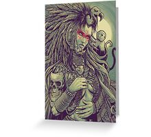 Vulture Queen Greeting Card