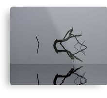 Adrift in Fog, without Direction Metal Print