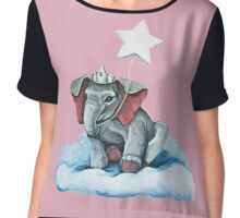 Elephant Princess Chiffon Top