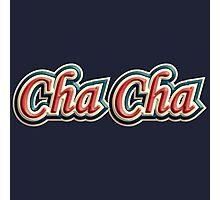 colorful vintage cha cha Photographic Print
