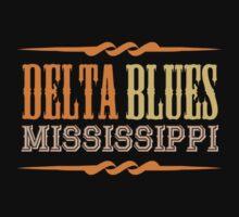 Delta Blues Mississippi Kids Tee