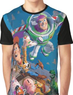 Toy Story Cover Graphic Graphic T-Shirt