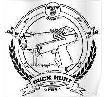 Duck Hunt - Black - Poster
