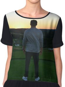 Sunset - Golf Chiffon Top