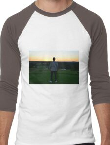 Sunset - Golf Men's Baseball ¾ T-Shirt