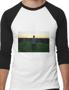 Sunset - Golf Men's Baseball ¾ T-Shirt