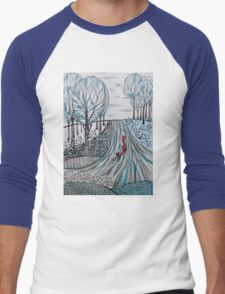 Frosty morning for Foxy Men's Baseball ¾ T-Shirt