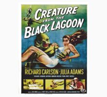 Vintage poster - Creature from the Black Lagoon Kids Tee