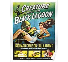 Vintage poster - Creature from the Black Lagoon Poster