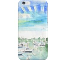 La Pointe D'Arradon In Brittany iPhone Case/Skin