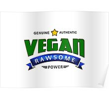 Vegan Rawsome Power Poster