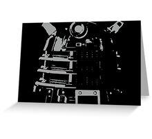 Dalek in the Dark Greeting Card