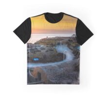 Sunrise over La Illeta from L'Almadrava panorama Graphic T-Shirt