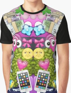 m0ney Graphic T-Shirt