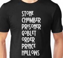 Harry Potter Titles Unisex T-Shirt