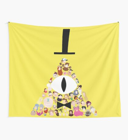 Gravity Falls Characters Wall Tapestry