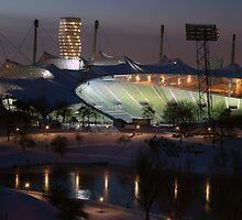 Munich: Olympic Stadium by Kasia-D