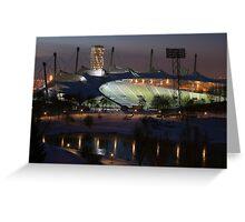 Munich: Olympic Stadium Greeting Card