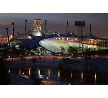 Munich: Olympic Stadium Photographic Print