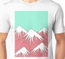 Mountain and the stars Unisex T-Shirt